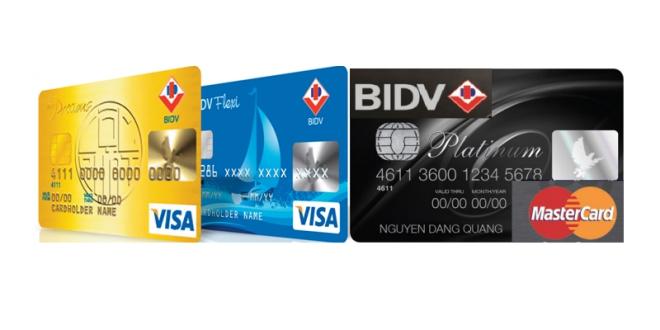 Thẻ ghi nợ BIDV